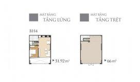 Hot! căn hộ tầng trệt melody âu cơ nhận nhà ở liền 4 tỷ 9/ căn 116m2, lh: