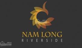 Mở bán đất nền bình chánh khu đô thị nam long riverside, giá chỉ 499 tr, shr, mặt tiền quốc lộ 50