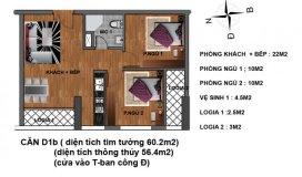 Suất ngoại giao 20 căn hộ chung cư Hanhud – Hoàng Quốc Việt cuối cùng với giá cực tốt, chỉ 25tr/m2