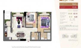 Chính chủ bán căn hộ urban hill phú mỹ hưng quận 7, hcm. giá tt 932 triệu