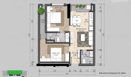 Chính chủ căn 2pn tầng 15 dự án iris garden. gia đình cần tiền gấp nên bán cắt lỗ căn view siêu đẹp