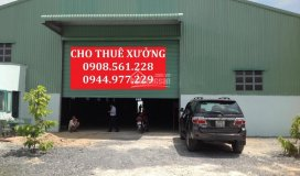 Cho thuê 2 nhà xưởng, quận 12, dt: 1200m2 giá 40 tr/tháng, 1500m2 giá 60 tr/tháng. lh