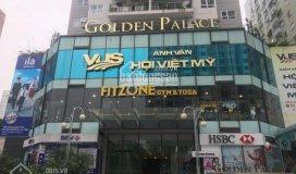 Cho thuê 430m2 sàn tầng 1 thương mại cc golden palace lê văn lương 582.5ng/m2/th. lh