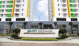 Cho thuê căn hộ melody đường âu cơ, 2pn, 80m2, đủ nội thất, giá 8 triệu/tháng lh: