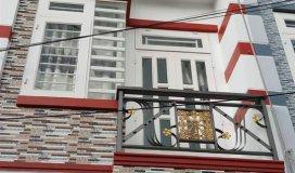 Bán nhà mới 2 lầu  1,36 tỷ ngay sát nhà hàng Cần Phong 3, đường Lê Văn Khương quận 12
