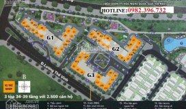 Gian hàng kinh doanh tầng 1 tòa g1,s=68.5 m2 dự án vinhomes green bay
