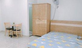 Phòng studio đầy đủ tiện nghi có sẵn kệ bếp, thang máy, ngay gần cv lê thị riêng 4.9tr/tháng 20m2
