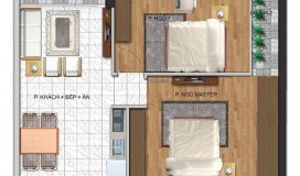 Bán căn 08, DT 66m2 – 234 Hoàng Quốc Việt- giá 26 triệu/m2,tháng 9 nhận nhà.