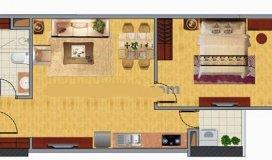 Cần bán gấp căn hộ chung cư CT2C Nghĩa Đô, DT 48m2, giá: 31,5 triệu/m2.