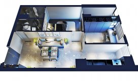 Cần bán căn hộ 45m2, 2 ngủ. gần tòa Dolphin giá ưu đãi, 1 tỷ nhận nhà