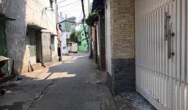 Bán nhà hẻm 375 Nguyễn Văn Luông, P12, Q6