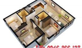 Tôi cần bán lại căn hộ 1501 DT 89m2- Chung cư 234 Hoàng Quốc Việt, giá bán 26tr/m2.