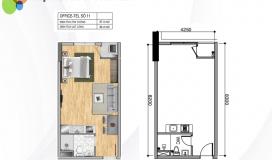 Cần bán gấp Officetel Sunrise Cityview Quận 7 giá 1,65 tỷ