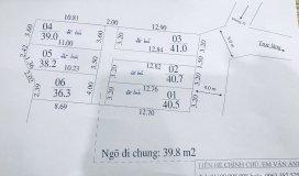 Bán đất Kim Chung giá rẻ bất ngờ 36m2, giá 680 triệu, LH 0978204236.