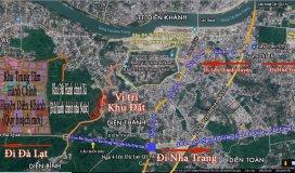 Bán đất 504 m2 mặt tiền đường 20m tại Diên Thạnh, Diên Khánh, Khánh Hòa. 5.2 triệu/m2