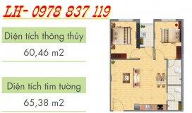 (Mới) Chính chủ bán gấp căn hộ 106 Hoàng Quốc Việt. Tầng đẹp, gần Full đồ, 2 ngủ và 2 WC (có thương