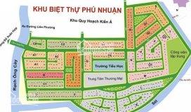 Bán đất khu biệt thự phú nhuận - phước long b q.9 giá 31tr/m2 lh: