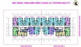 24tr/m2, Bán gấp CH 789 Xuân Đỉnh, tòa CT1, căn 1208 (69.8m) & căn 1618 (69m)