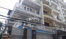 Nhà cho thuê khu đệ nhất khách sạn - hoàng việt, p4, tân bình 8x21m 3 lầu 5pn: văn phòng công ty