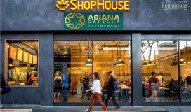 Suất ưu tiên shophouse asiana capell - trả trước 450tr/shop - chiết khấu lớn tới 5% = 150 - 450tr