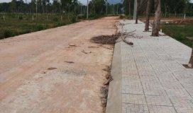 Bán lô đất lớn đẹp mặt tiền đường  Đặng Công Bỉnh,huyện  Hóc Môn.