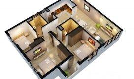 Bán chung cư  Hanhud, Ngõ 234 Hoàng Quốc Việt, căn góc giá 26,5 tr/m2.