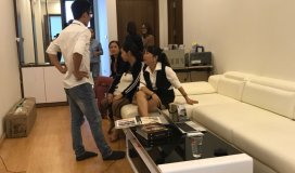 Cần Cho thuê căn hộ chung cư GeLexia 885 Tam Trinh Hoàng Mai HN giá 5tr/th LH 0912606172
