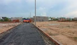 Bán đất mặt tiền đường Đinh Đức Thiện,huyện Bình Chánh SHR + XDTD, giá :650tr/nền