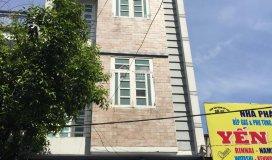 Bán nhà 4 tầng, p an bình, tx dĩ an, dt 440m2 kd karaoke lh chính chủ