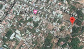 Bán gấp lô đất mặt tiền Điện Biên Phủ, Long Toàn, Bà Rịa, Giá: 1,760 Tỷ, DT: 136,6m