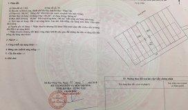 Bán 4 lô liền kề mặt tiền đường Hùng Vương, TP Bà Rịa, Giá: 1,7 Tỷ, DT: 166m, 60m thổ cư