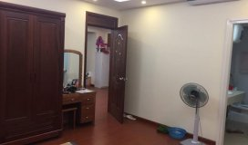 Cho thuê căn hộ 2 phòng ngủ tòa CT2B Nam Cường, Nghĩa đô, full đồ.