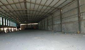 Cho thuê 2 nhà xưởng 1150m2 và xưởng 1400m2 mặt tiền đường 835, xã Long Khuê, Cần Đước.