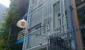 Chuyển nhượng Bất động sản đường Lê Văn Sỹ,quận 3.Nhà 2 mặt hẻm xe hơi,100m2,1 hầm 5 lầu.Giá hữu ngh