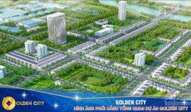 Bán 1 cặp chính chủ đường 15,5m và 17,5m dự án golden city, sông cổ cò, giá chỉ từ 7,5 triệu/m2