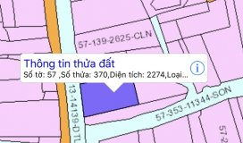 Bán đất mặt tiền đường phan văn đáng, 2274m2, giá bán 2,5 triệu/m2. liên hệ anh nhật sđt