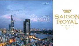 Bán nhanh 3pn sài gòn royal quận 4, căn số 14 tầng cao view sông đẹp, giá 9,4 tỷ. lh: