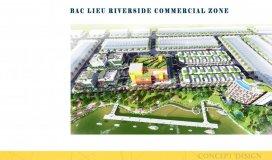 Chính thức nhận giữ chỗ 56 căn shophouse, dự án thương mại ven sông phường 2, thành phố bạc liêu