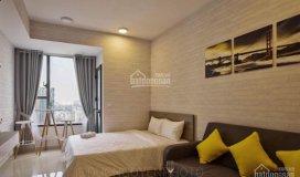 Cho thuê căn hộ 1 phòng ngủ river gate quận 4, bến vân đồn 32m2, giá 13 triệu/tháng, lh: