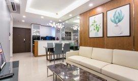 Cho thuê căn hộ the gold view, bến văn đồn, q4, 2pn full nội thất giá 14,5 tr/th, lh