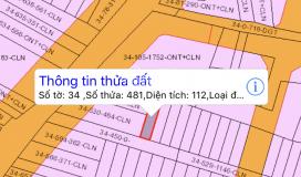Chủ gửi em bán 5 nền đất xã phú đông, 5x20m, có 50 thổ cư giá 1,1 tỷ /lô, đường xe hơi tránh nhau
