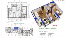 Bán chung cư Pandora Tower- 53 Triều Khúc giá gốc chủ đầu tư