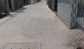 Bán 75,5m2 đất thổ cư hẻm xe hơi gần Bến Phà Tân Thanh, gần Bệnh Viện Cần Giuộc, xã Trường Bình