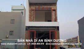 Bán nhà đường Hai Bà Trưng dĩ an bình dương 4x17m nhà 3 tầng