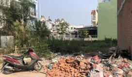 Bán đất sổ riêng đường huỳnh tấn phát- đào tông nguyên huyện nhà bè. kdc đường nội bộ xd tự do.