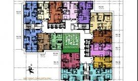 Tầng duy nhất căn 15 tòa R2, Giá: 2.9ty/2pn/80.69m2/vat/full nội thất. LH PBH 0944 82 0066