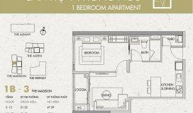 Cần bán căn hộ Gateway Thảo Điền, tòa Madison  - 1 PN