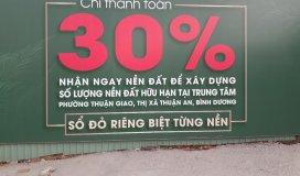 Bán đất KDC Hoziron Thuận Giao. Diện tích: 4,5 x 15, 4,5 x 20m. Thổ cư 100%