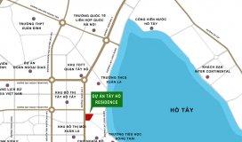 Bán CC cao cấp Tây Hồ Residence, 68A Võ Chí Công, giá 3.2 ty/2pn/85m2/vat/full nội thất. LH 0983 084