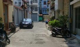 Nhà hẻm xe  hơi Huỳnh văn Bánh,phường 12,q.Phú nhuận,35 m2,1 lửng 2 lầu,6.5 tỷ.